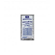 1413 µS/cm Conductivity Calibration Solution (box of 25x20 ml sachet) Milwaukee