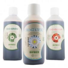 Комплект удобрений BioBizz 0,5л + Bio Heaven 0,25л