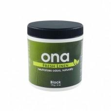 Нейтрализатор запаха ONA Block Fresh Linen 170гр